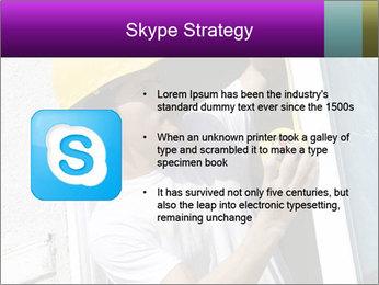 Male taking PowerPoint Template - Slide 8