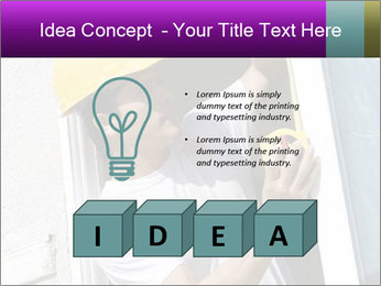 Male taking PowerPoint Template - Slide 80