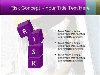 Male taking PowerPoint Template - Slide 81
