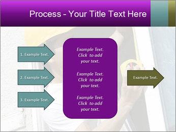 Male taking PowerPoint Template - Slide 85