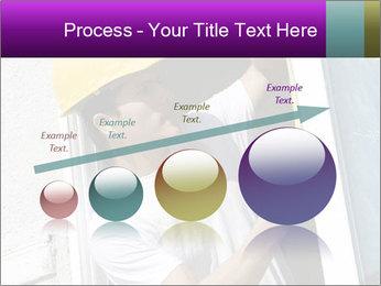 Male taking PowerPoint Template - Slide 87