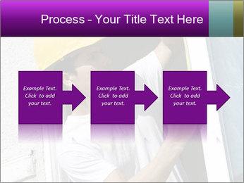 Male taking PowerPoint Template - Slide 88