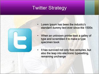 Male taking PowerPoint Template - Slide 9
