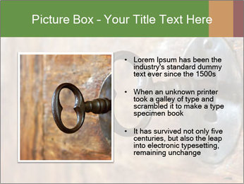 Closeup of an old keyhole PowerPoint Templates - Slide 13
