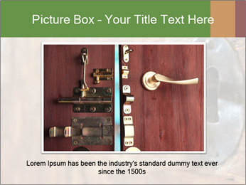 Closeup of an old keyhole PowerPoint Templates - Slide 15