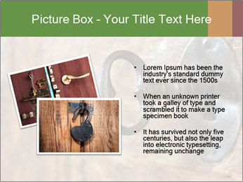 Closeup of an old keyhole PowerPoint Templates - Slide 20