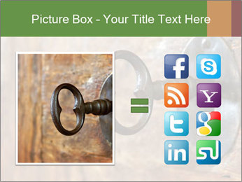 Closeup of an old keyhole PowerPoint Templates - Slide 21