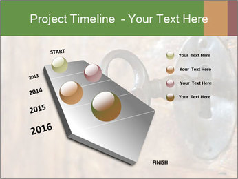 Closeup of an old keyhole PowerPoint Templates - Slide 26