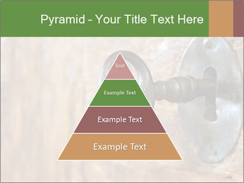 Closeup of an old keyhole PowerPoint Templates - Slide 30