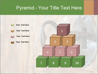 Closeup of an old keyhole PowerPoint Templates - Slide 31