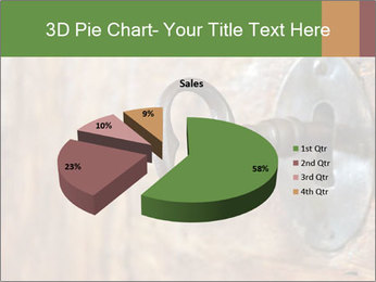 Closeup of an old keyhole PowerPoint Templates - Slide 35