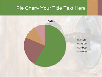 Closeup of an old keyhole PowerPoint Templates - Slide 36