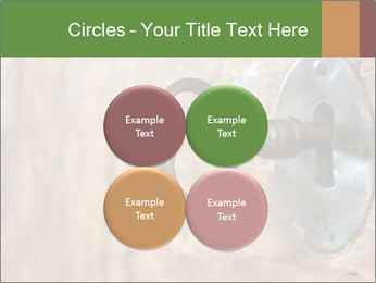 Closeup of an old keyhole PowerPoint Templates - Slide 38
