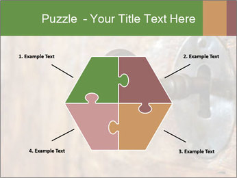 Closeup of an old keyhole PowerPoint Templates - Slide 40
