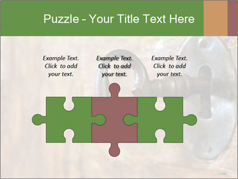 Closeup of an old keyhole PowerPoint Templates - Slide 42