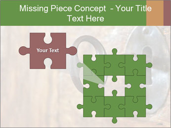 Closeup of an old keyhole PowerPoint Templates - Slide 45