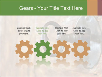Closeup of an old keyhole PowerPoint Templates - Slide 48