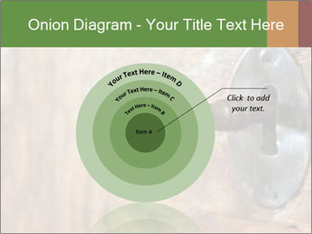 Closeup of an old keyhole PowerPoint Templates - Slide 61