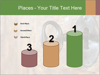 Closeup of an old keyhole PowerPoint Templates - Slide 65