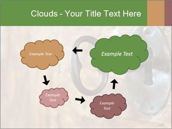 Closeup of an old keyhole PowerPoint Templates - Slide 72