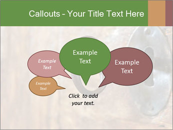 Closeup of an old keyhole PowerPoint Templates - Slide 73