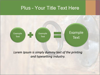 Closeup of an old keyhole PowerPoint Templates - Slide 75
