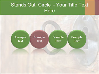 Closeup of an old keyhole PowerPoint Templates - Slide 76