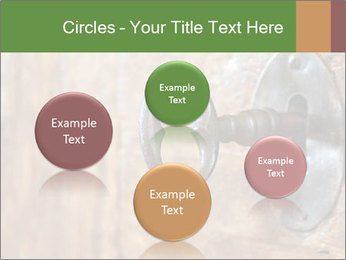 Closeup of an old keyhole PowerPoint Templates - Slide 77