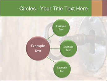Closeup of an old keyhole PowerPoint Templates - Slide 79