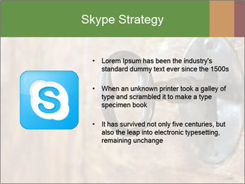 Closeup of an old keyhole PowerPoint Templates - Slide 8