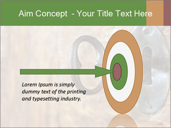 Closeup of an old keyhole PowerPoint Templates - Slide 83