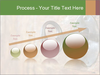 Closeup of an old keyhole PowerPoint Templates - Slide 87