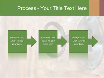 Closeup of an old keyhole PowerPoint Templates - Slide 88
