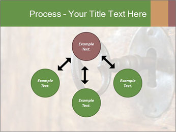 Closeup of an old keyhole PowerPoint Templates - Slide 91