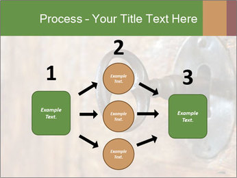 Closeup of an old keyhole PowerPoint Templates - Slide 92