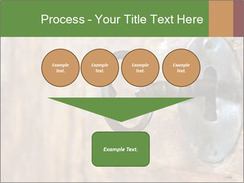 Closeup of an old keyhole PowerPoint Templates - Slide 93