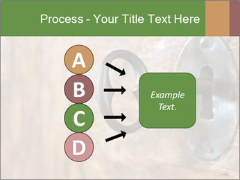 Closeup of an old keyhole PowerPoint Templates - Slide 94
