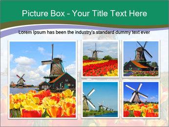 Traditional Dutch windmills PowerPoint Template - Slide 19