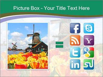 Traditional Dutch windmills PowerPoint Template - Slide 21