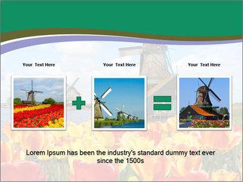 Traditional Dutch windmills PowerPoint Template - Slide 22