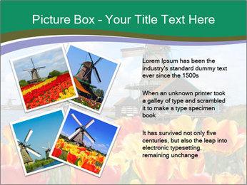 Traditional Dutch windmills PowerPoint Template - Slide 23