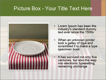 Table arrangement PowerPoint Template - Slide 13