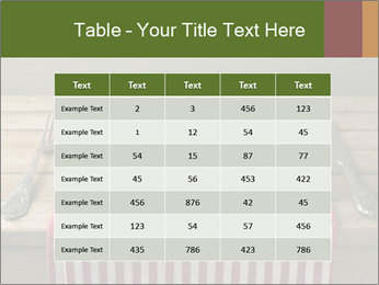 Table arrangement PowerPoint Template - Slide 55
