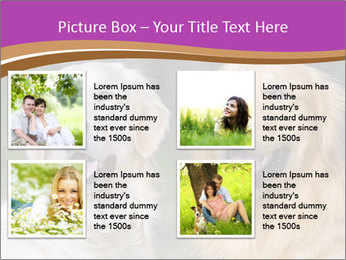 Dogs playing in the meadow PowerPoint Templates - Slide 14