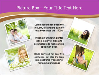 Dogs playing in the meadow PowerPoint Templates - Slide 24