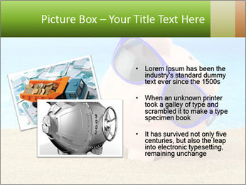 Summer piggy bank PowerPoint Template - Slide 20