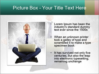 Yoga businessman PowerPoint Template - Slide 13