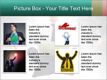 Yoga businessman PowerPoint Template - Slide 14