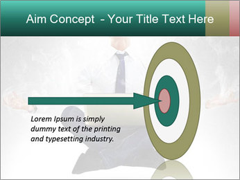 Yoga businessman PowerPoint Template - Slide 83