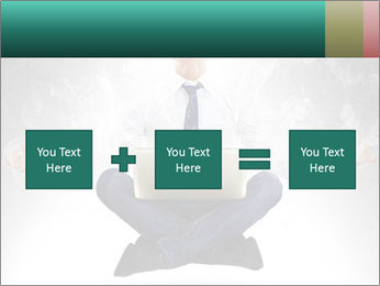 Yoga businessman PowerPoint Template - Slide 95